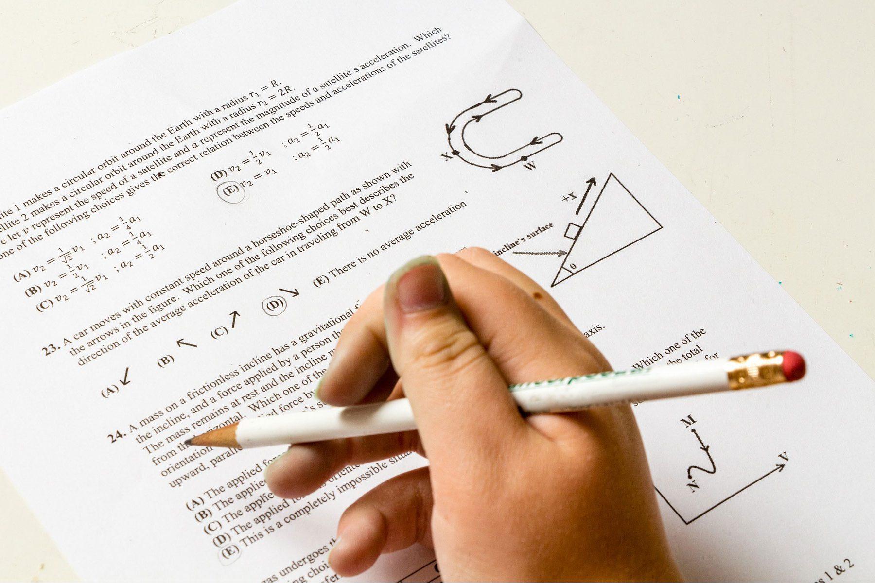 Rêver de passer un examen