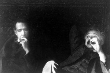Albert Einstein et Niels Bohr